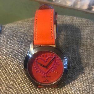 NWT Coach X Keith Haring Watch